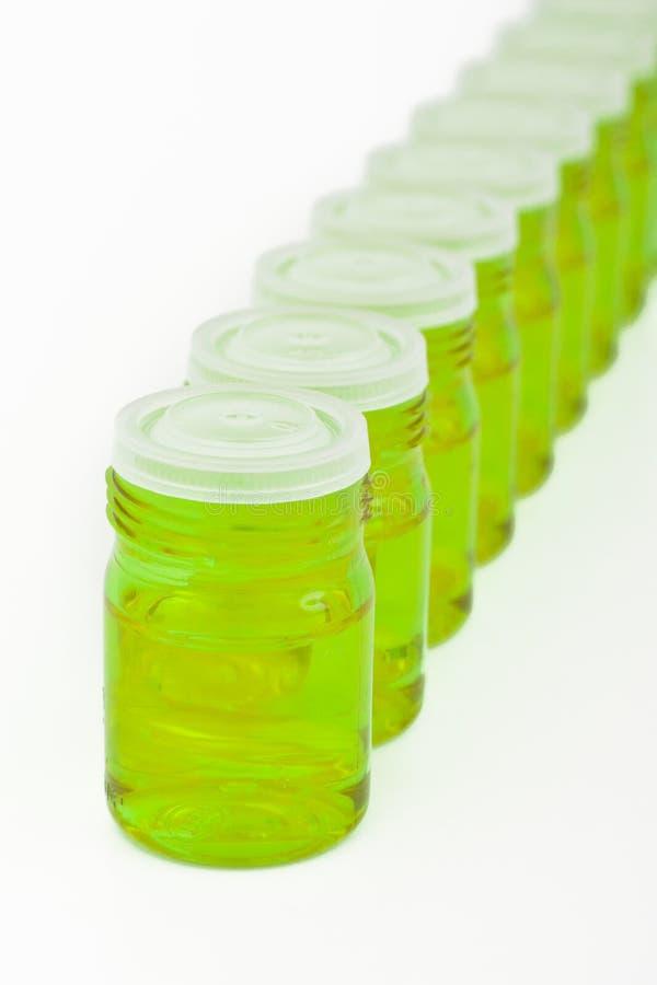 容器化妆用品玻璃 库存图片