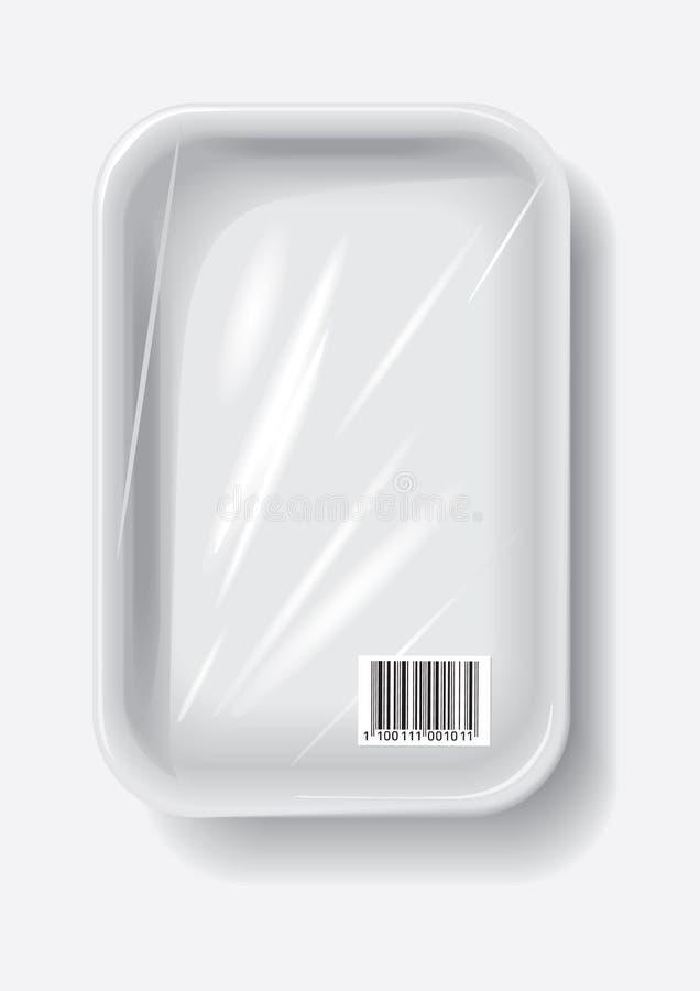 容器塑料 向量例证