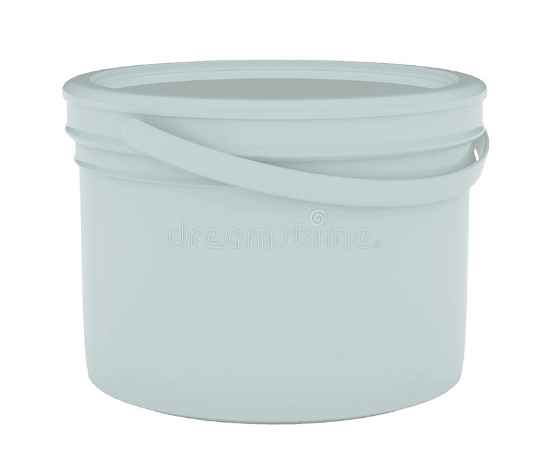 容器油漆塑料 免版税库存图片