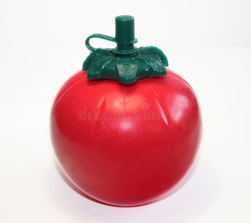 容器番茄酱蕃茄 免版税库存图片
