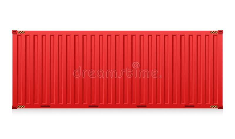 容器 库存例证