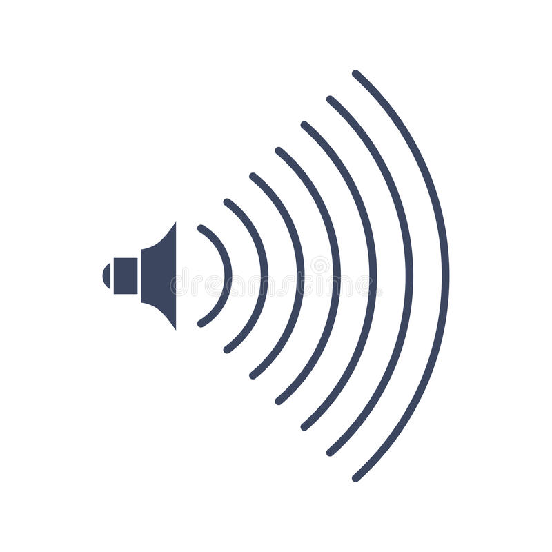 容量音乐标志音频象 声音强度的标志 皇族释放例证