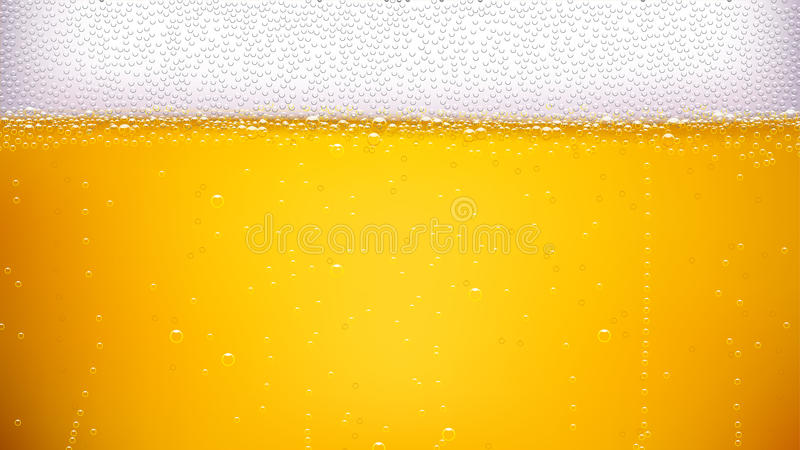 宽啤酒的背景 库存照片