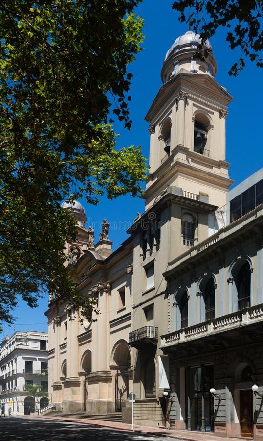 宽容大教堂在蒙得维的亚 库存图片