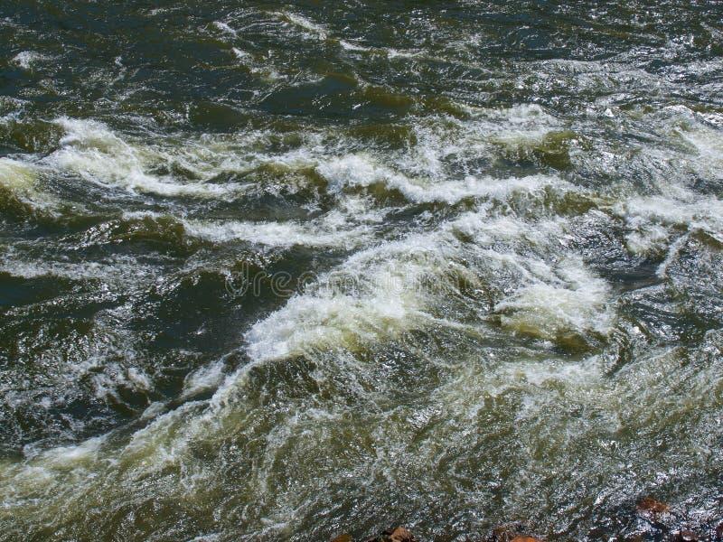 宽山河流谷 — 克拉克弗克河 库存照片