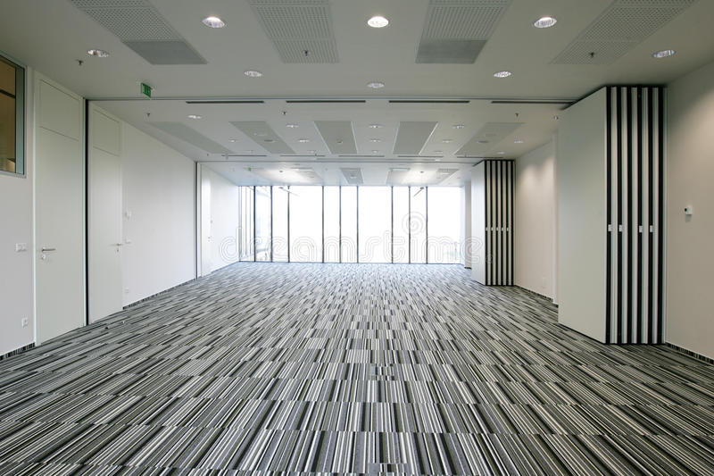 宽敞的办公室 图库摄影