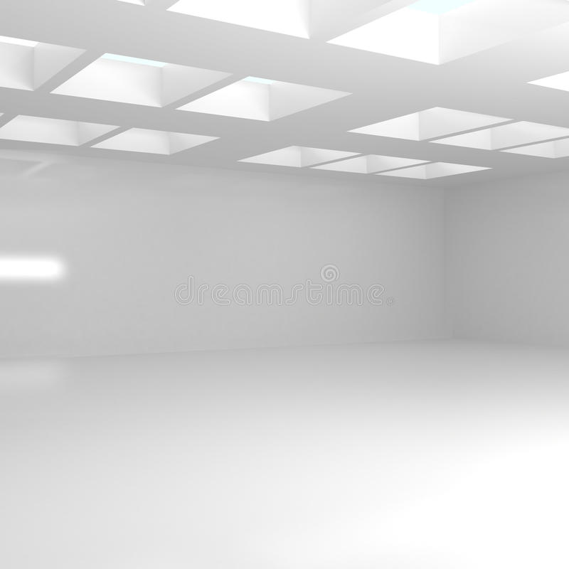 宽空的空间 向量例证