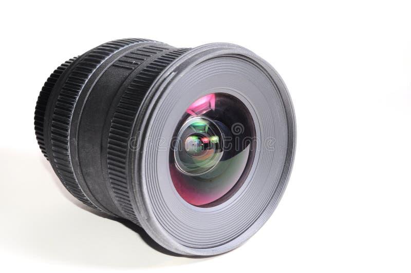 宽角度的透镜 库存照片