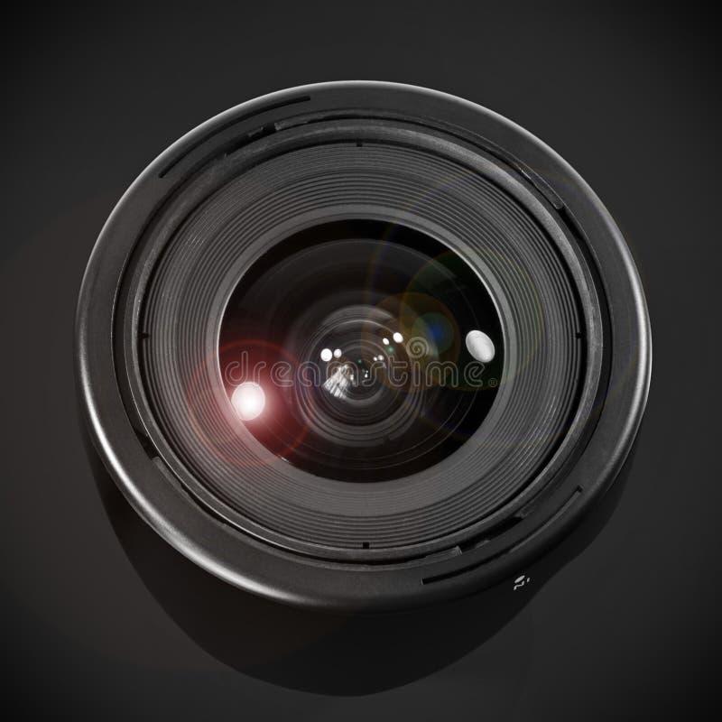 宽角度的透镜 免版税库存照片