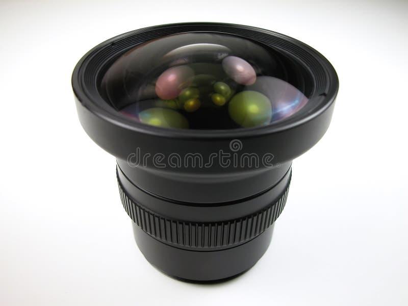 宽角度的透镜 库存图片