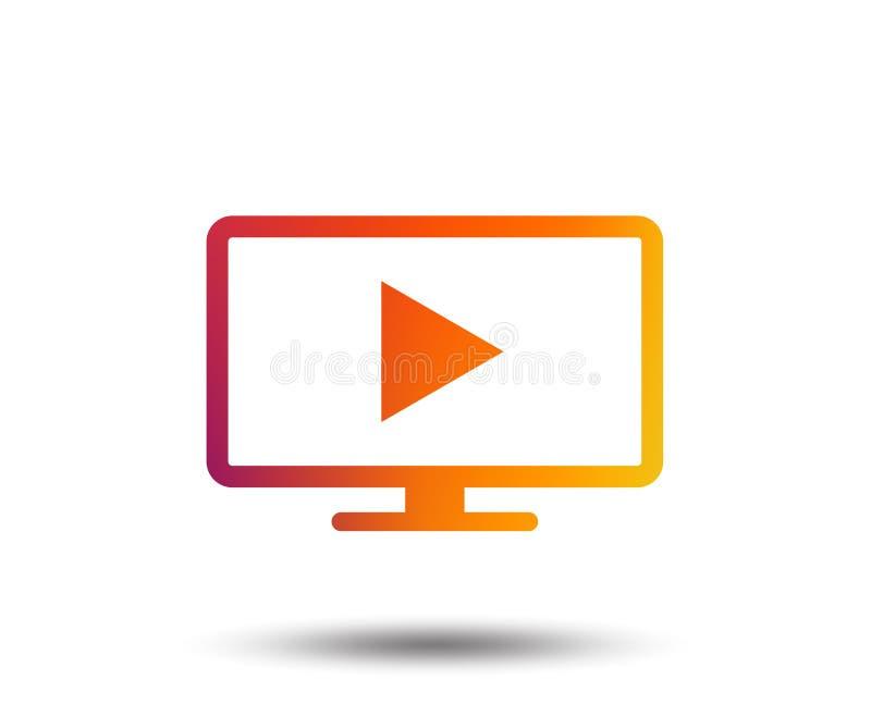 宽银幕电视方式标志象 电视机.图片
