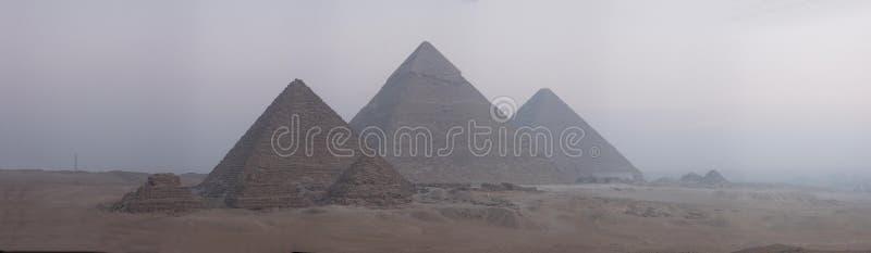 宽5000座全景象素金字塔 免版税库存图片