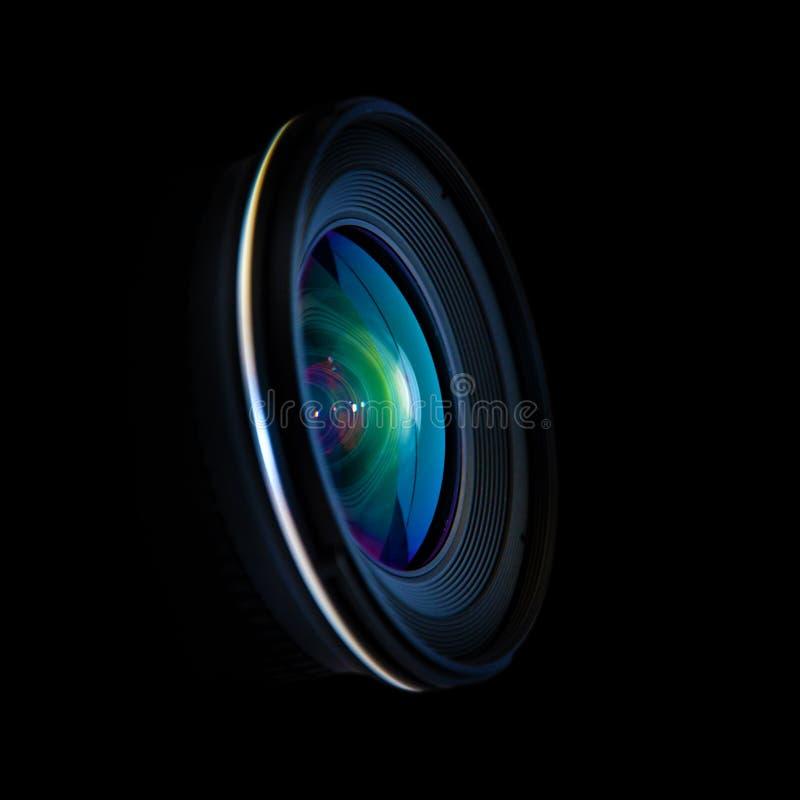 宽dslr的透镜 库存照片