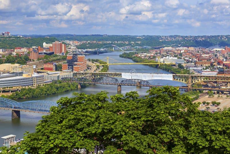 宾夕法尼亚匹兹堡 库存图片