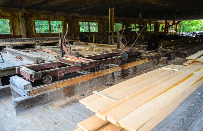 宾夕法尼亚木材博物馆 免版税库存照片