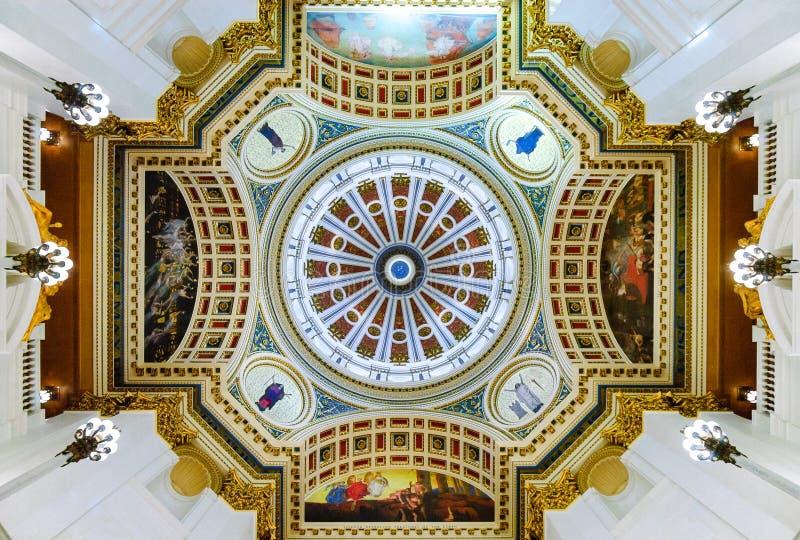 宾夕法尼亚状态国会大厦大厦 免版税库存图片