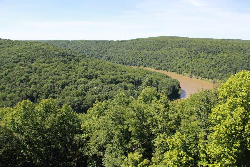 宾夕法尼亚的山 库存图片