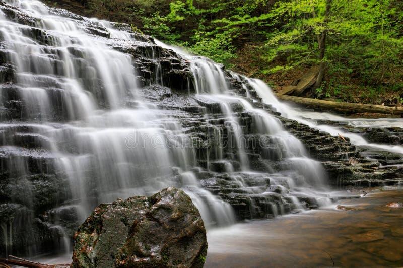 宾夕法尼亚落的水 图库摄影