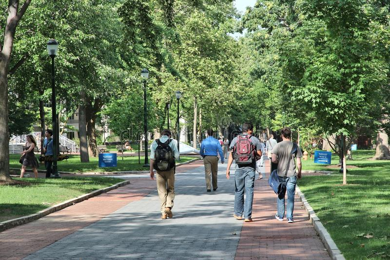 宾州州立大学校园 免版税库存照片