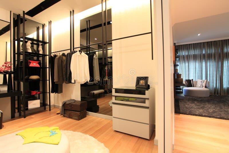 寄物处在豪华公寓房在吉隆坡 免版税库存图片
