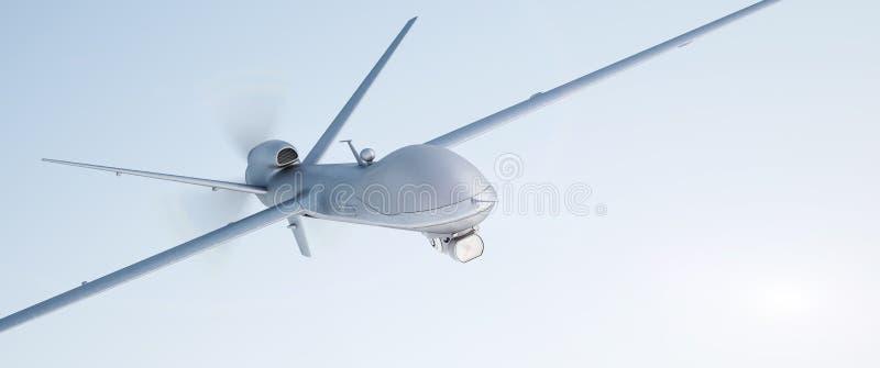 寄生虫UAV 图库摄影