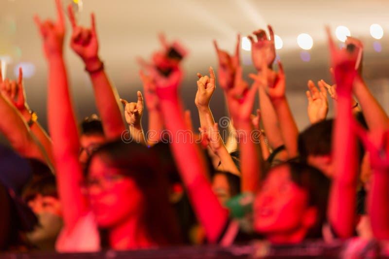 密地音乐节在中国 库存照片
