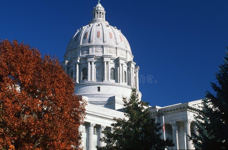密苏里的状态国会大厦, 免版税图库摄影