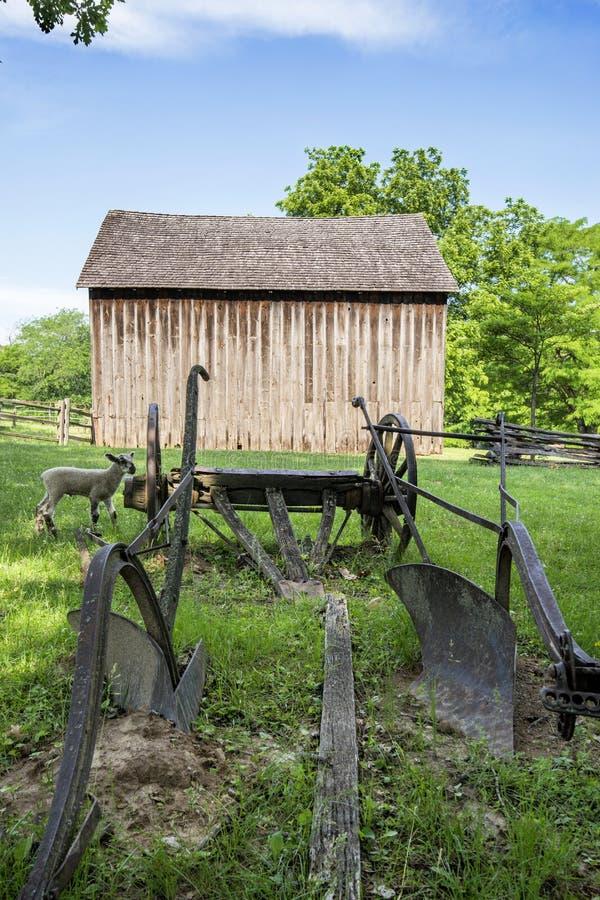 密苏里镇1855 库存图片