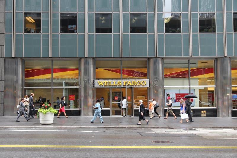 富国银行纽约 库存图片