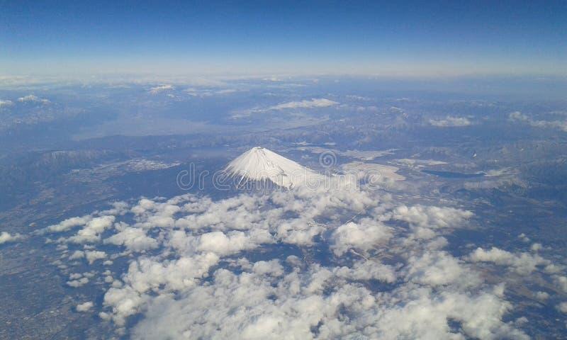 富士山在日本 免版税库存图片