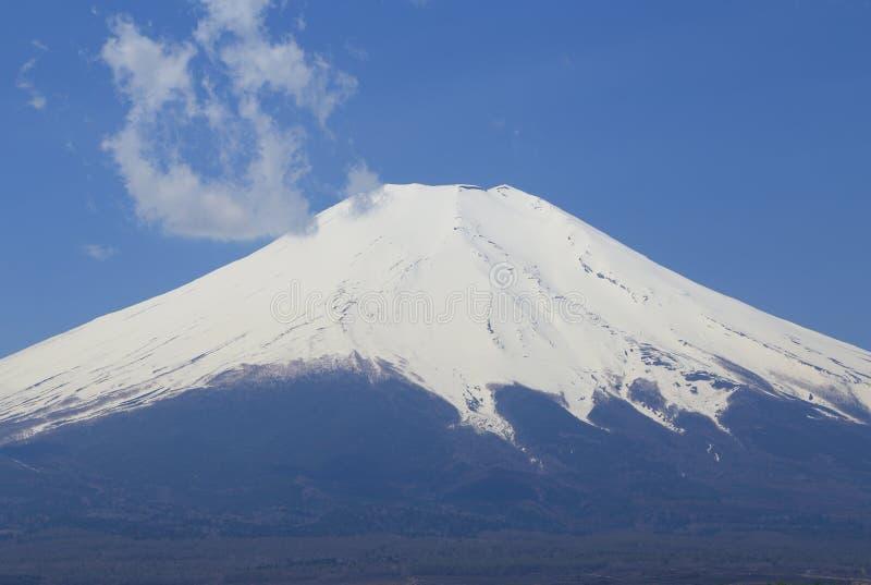 富士山峰顶  库存照片