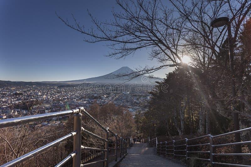 富士Shureito步 免版税图库摄影
