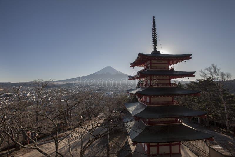 富士Shureito 图库摄影