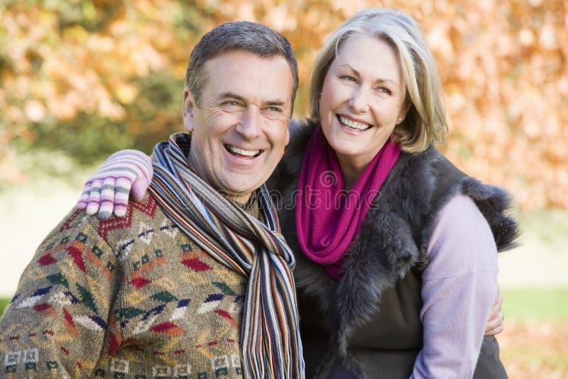 富感情的夫妇高级结构 图库摄影