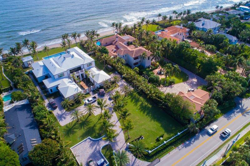 富有和著名佛罗里达的家 图库摄影