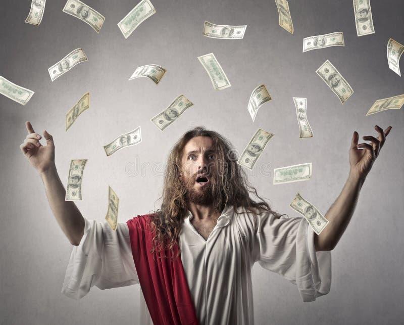 富有的耶稣 免版税库存照片
