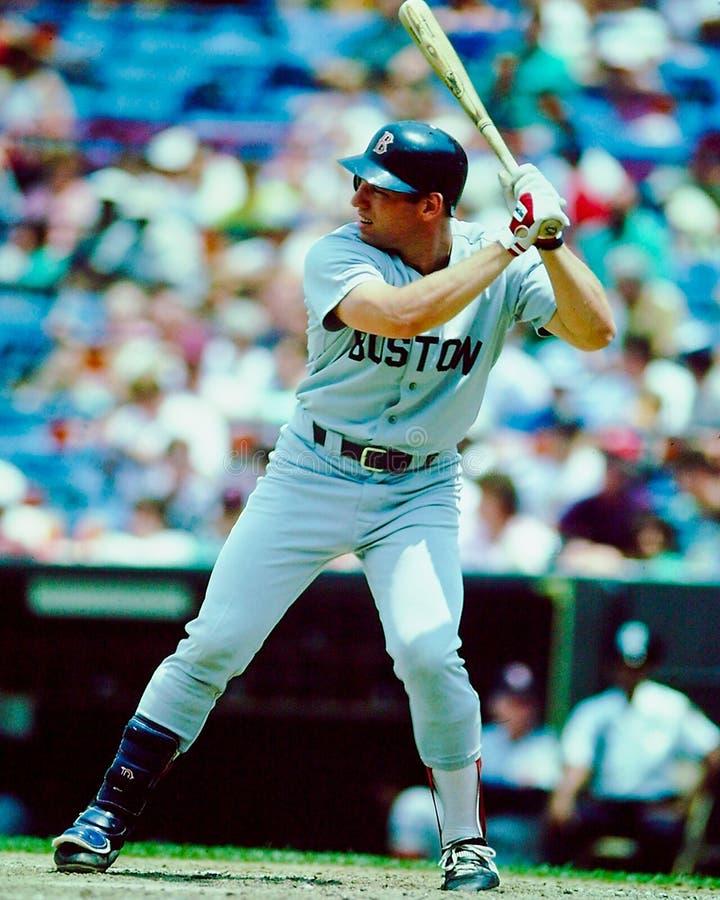 富有的Gedman波士顿红袜 免版税库存图片