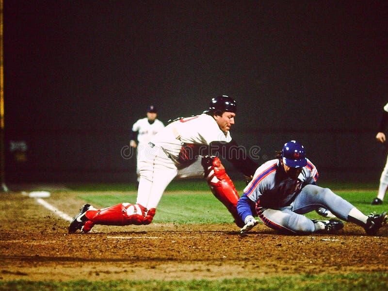 富有的Gedman波士顿红袜 库存图片