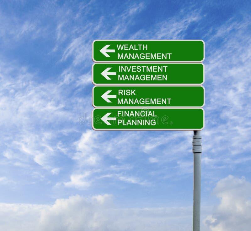 财富管理 免版税库存图片