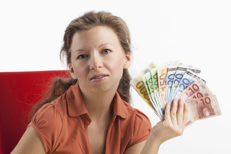 富裕的妇女年轻人 免版税图库摄影