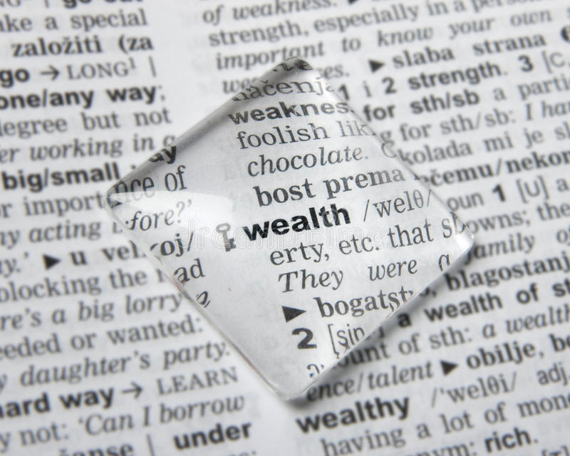 财富 免版税库存图片