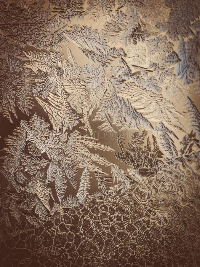 寒假季节幻想世界概念:FWinter节日幻想世界概念的宏观图象:葡萄酒宏指令图象 免版税库存照片