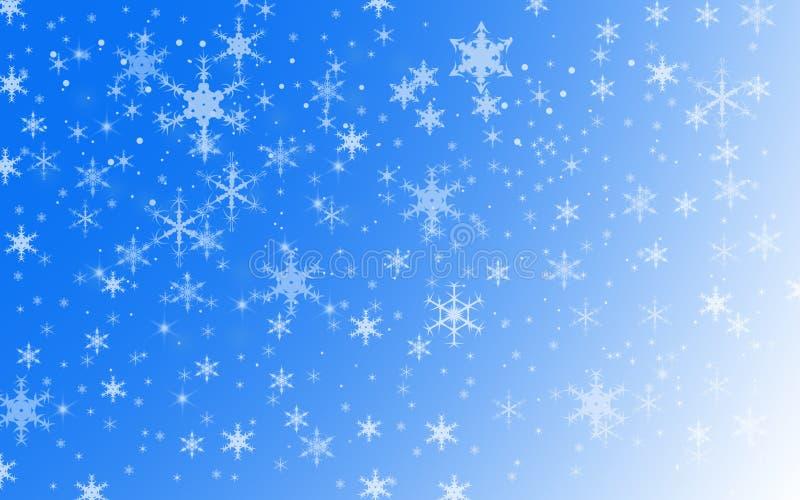 寒假雪背景