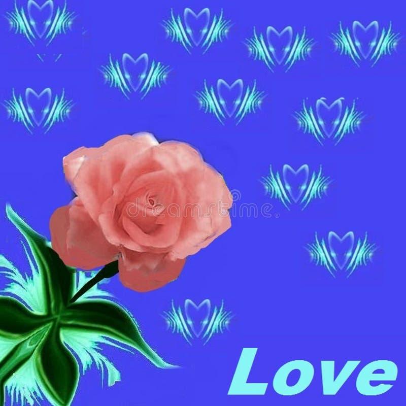 对于爱,并且要被爱这个样式-图片的那些人 向量例证