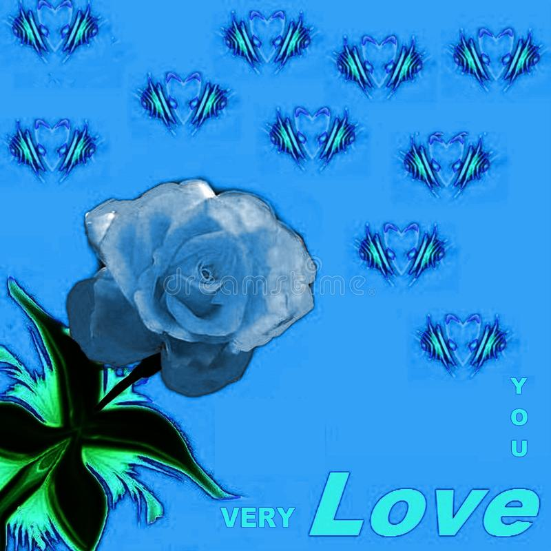 对于爱,并且要被爱这个样式-图片的那些人 库存例证