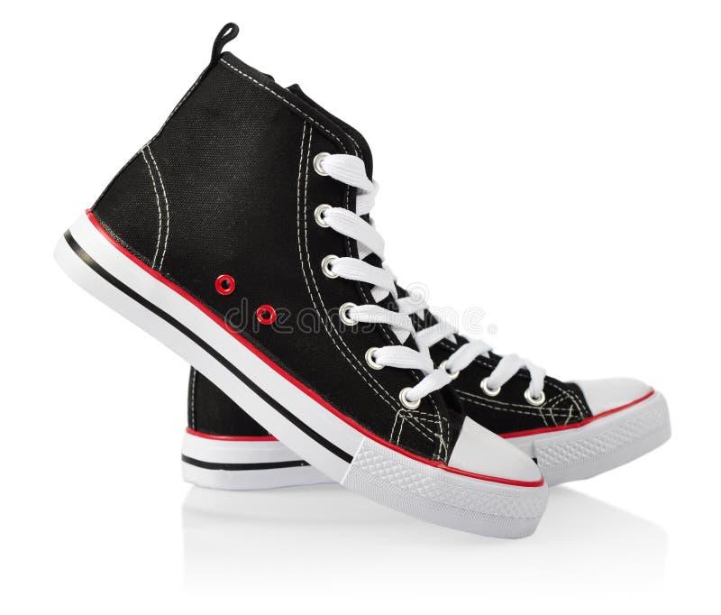 对体育鞋子 免版税库存图片
