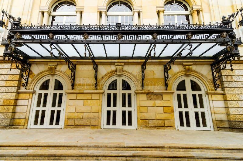 冒号剧院在波哥大 免版税库存照片