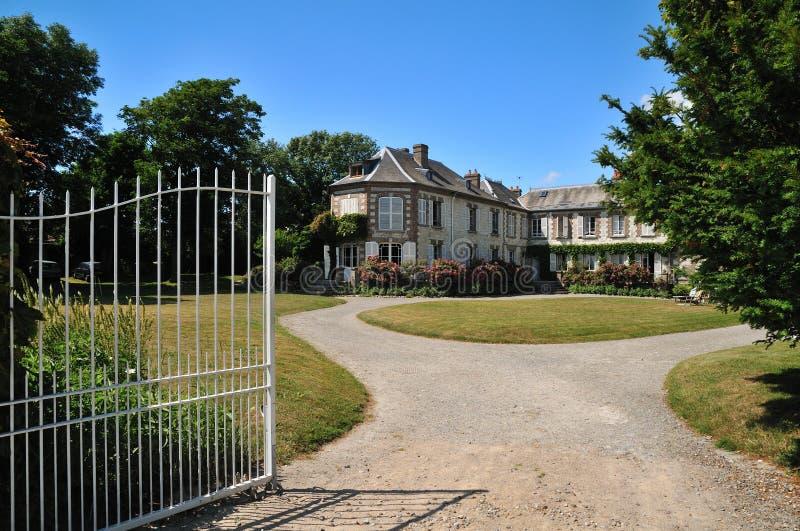 对别墅的入口 免版税库存照片