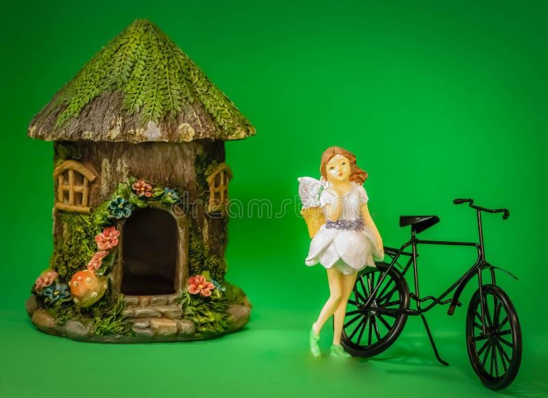 对参观的自行车乘驾 库存图片