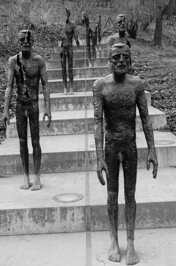 对受害者的共产主义纪念品 库存照片
